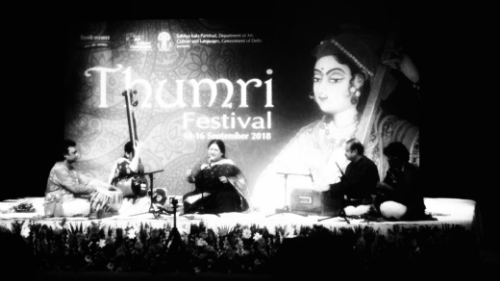 Shubha Mudgal during her performance at the Kamani auditorium on Saturday, Sept 15, 2018 at the Thumri Festival organised by the Delhi government's Sahitya Kala Parishad.