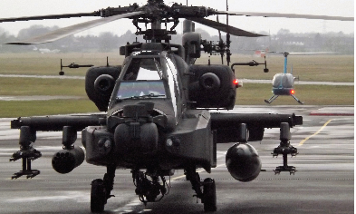 The Unites States is all set to sell Indian military six AH-64E Apache attack helicopters for $930 million. Pic for representational purpose only.