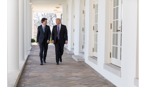 The G7 summit was supposed to improve fast-fraying ties between America and Canada but it was reduced to petty name calling by the US President Trump of his Canadian counterpart Trudeau. Pic for representational purpose only.