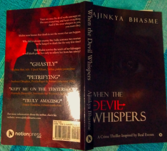 #SundayRead: Book Review of When The Devil Whispers by Ajinkya Bhasme