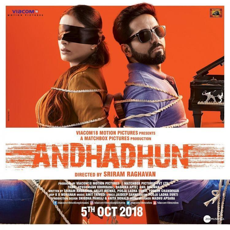 #Andhadhun #overhyped #trippywatch #noncliche #justaboutgood