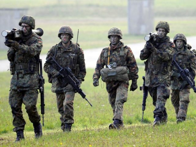 German cabinet extends its military involvement in Iraq by one year
