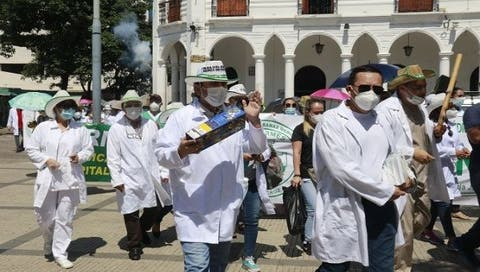 Healthcare workers strike in Bolivia, ignited by fears of rampant socialist government