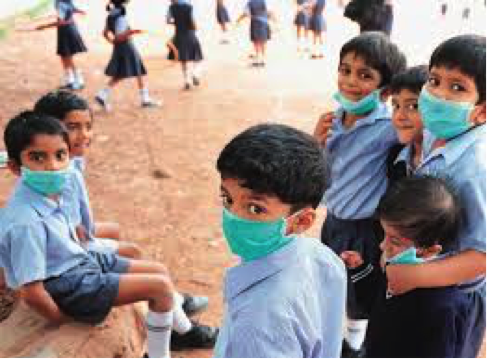 Beware! Air pollution affects your childs mental health.