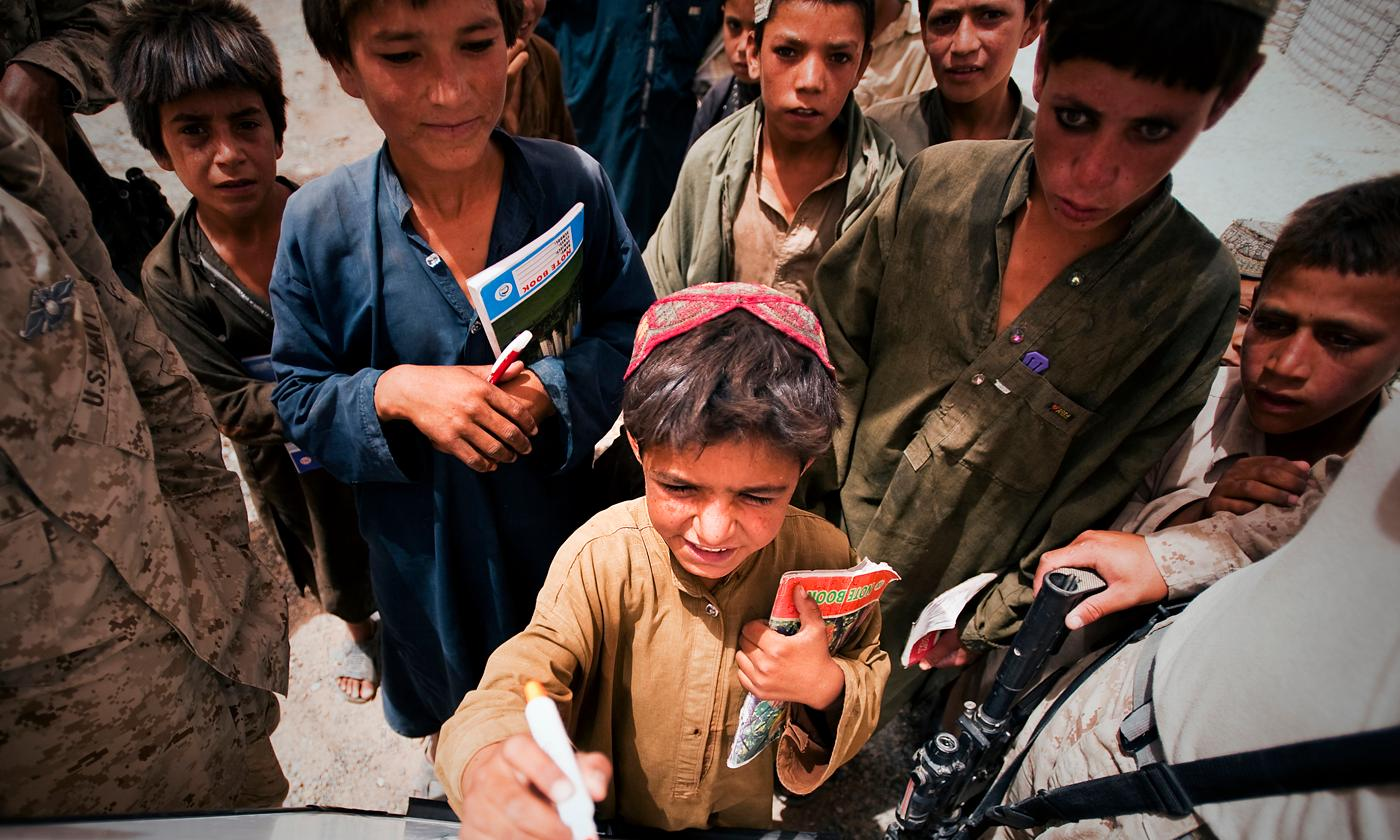 children of conflict in afghanistan essay It all began in 1949 when the eastern border of afghanistan became an issue of conflict betweeen pakistan and afghanistan afghanistan strengthened its forces with the soviet union and india, while pakistan had aligned with the us.