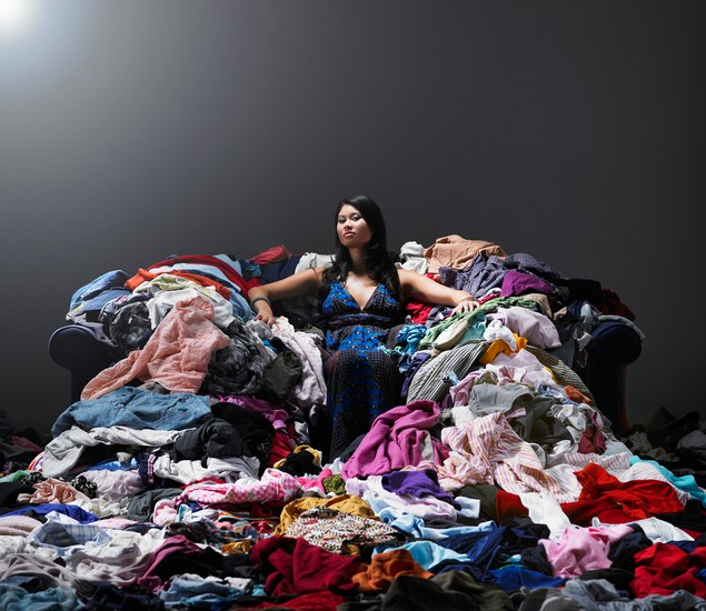 What happens when clothes become cheap and fashion becomes disposable?