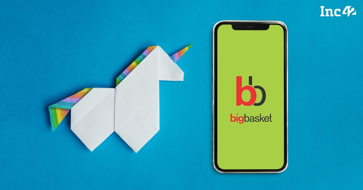 BigBasket Closes $150 Mn Series F To Join Unicorn Club